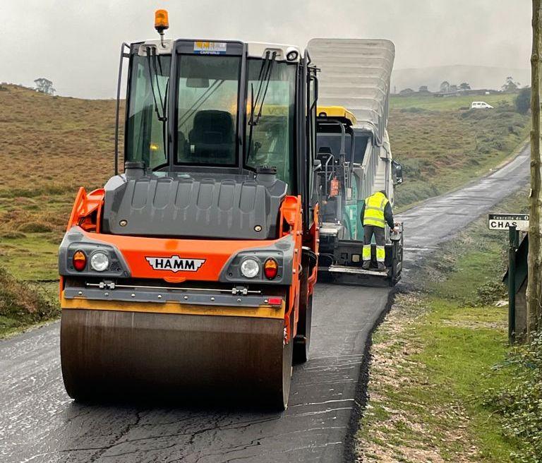 A Deputación aglomera catro estradas provinciais de Ourol nas que inviste 300.000€