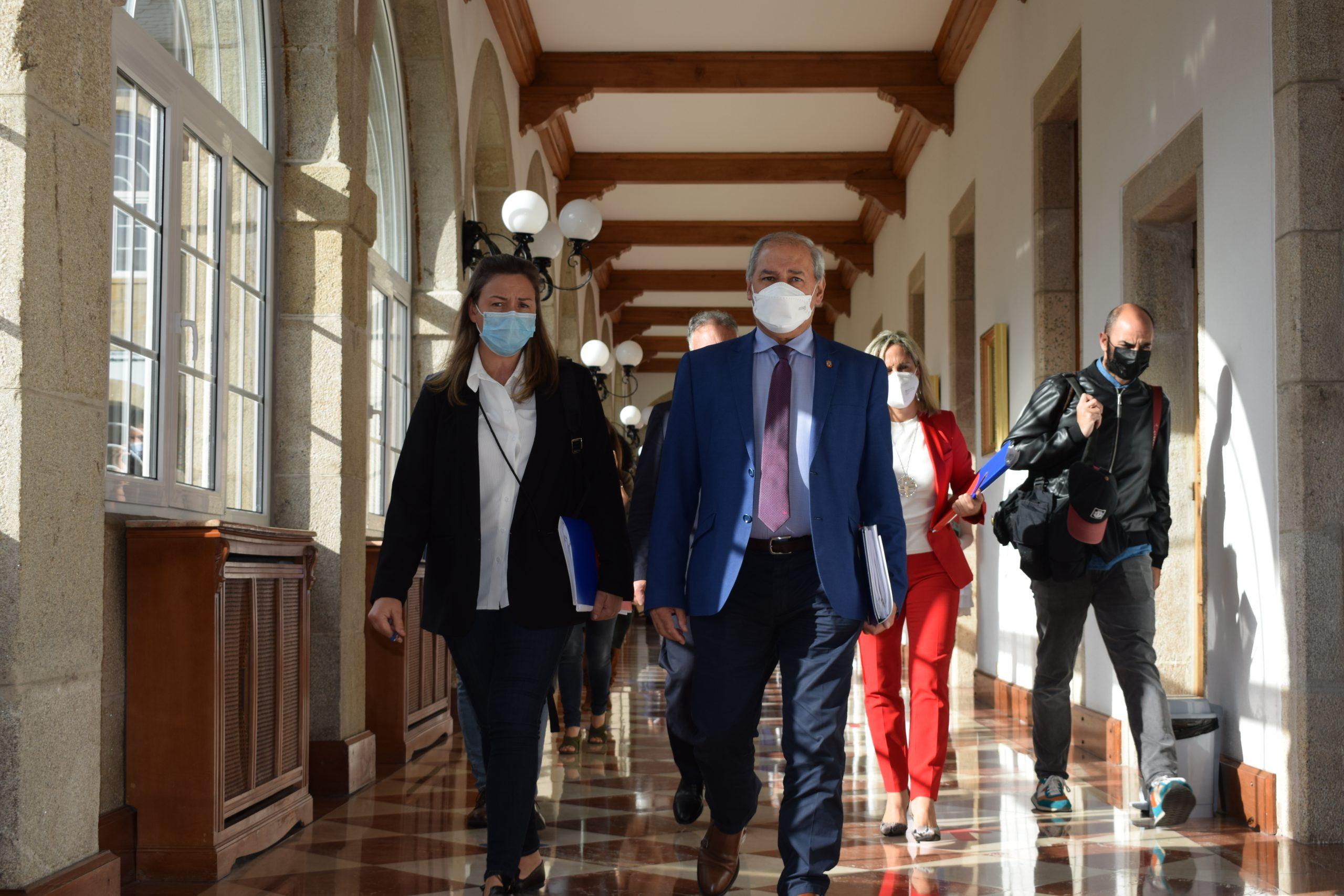 A Deputación aproba pedir á Xunta medidas de apoio para os traballadores de Vestas e un plan de reindustrialización para A Mariña
