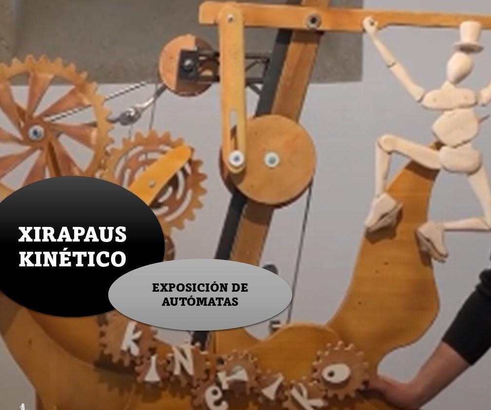 A exposición Kinético de Xirapaus en Lourenzá este venres
