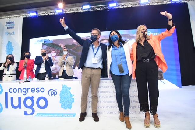 Elena Candia, proclamada presidenta do PP da provincia co 98,21% dos votos dos compromisarios