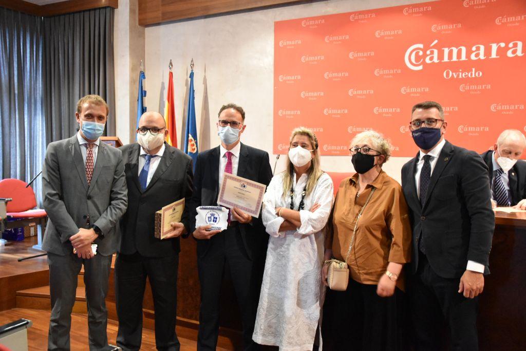 Daniel Vega participa no encontro da Asociación Día de Galicia en Asturias que entrega premios a dúas empresas ribadenses