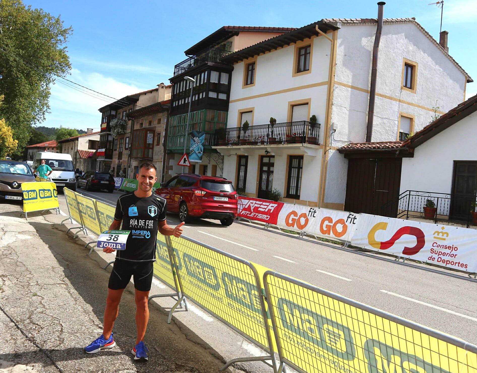 Boa participación de Simón Río no Campionato de España de media maratón