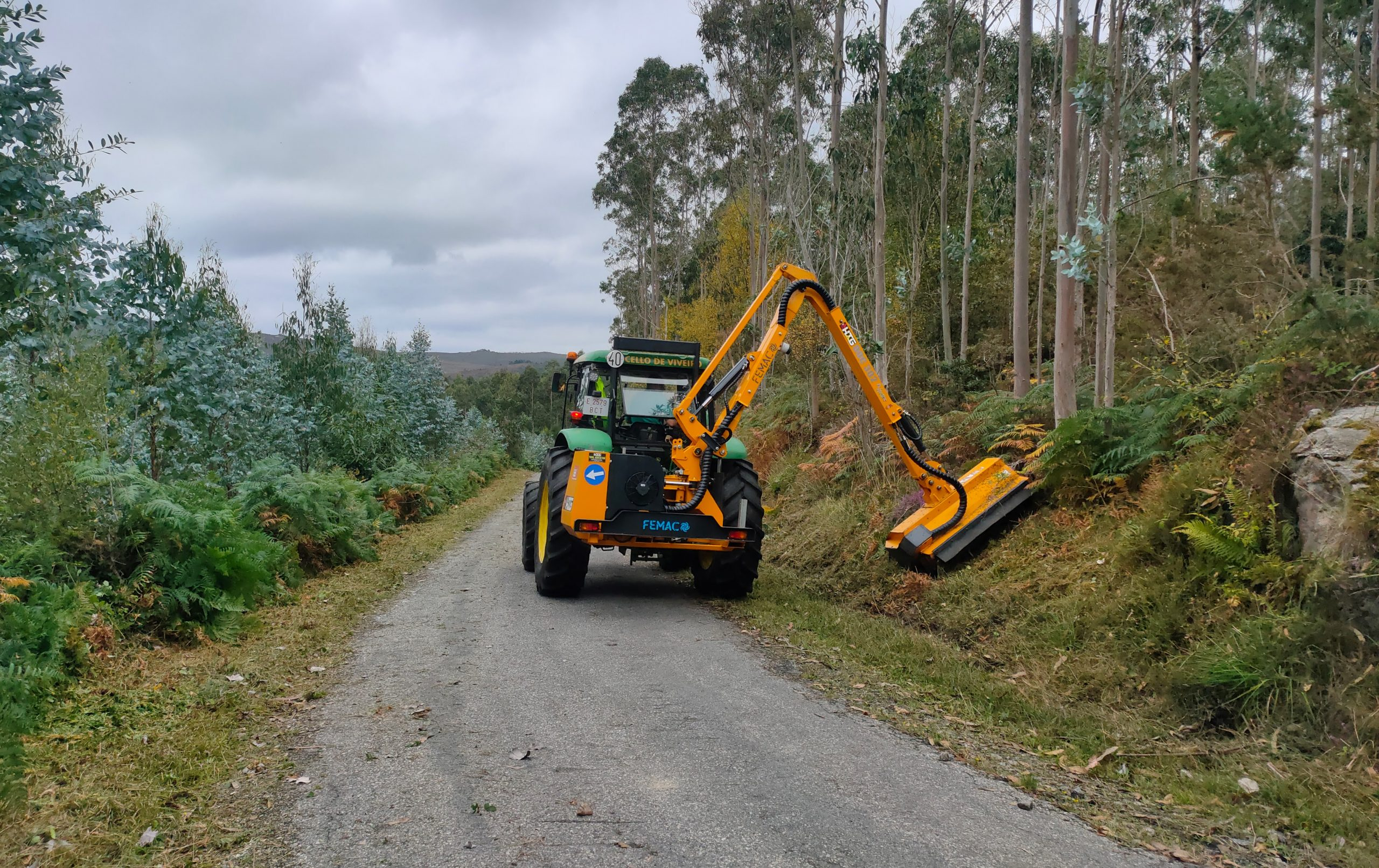 O BNG lamenta que o mantemendo de estradas municipais de Viveiro só se aplique baixo denuncia pública