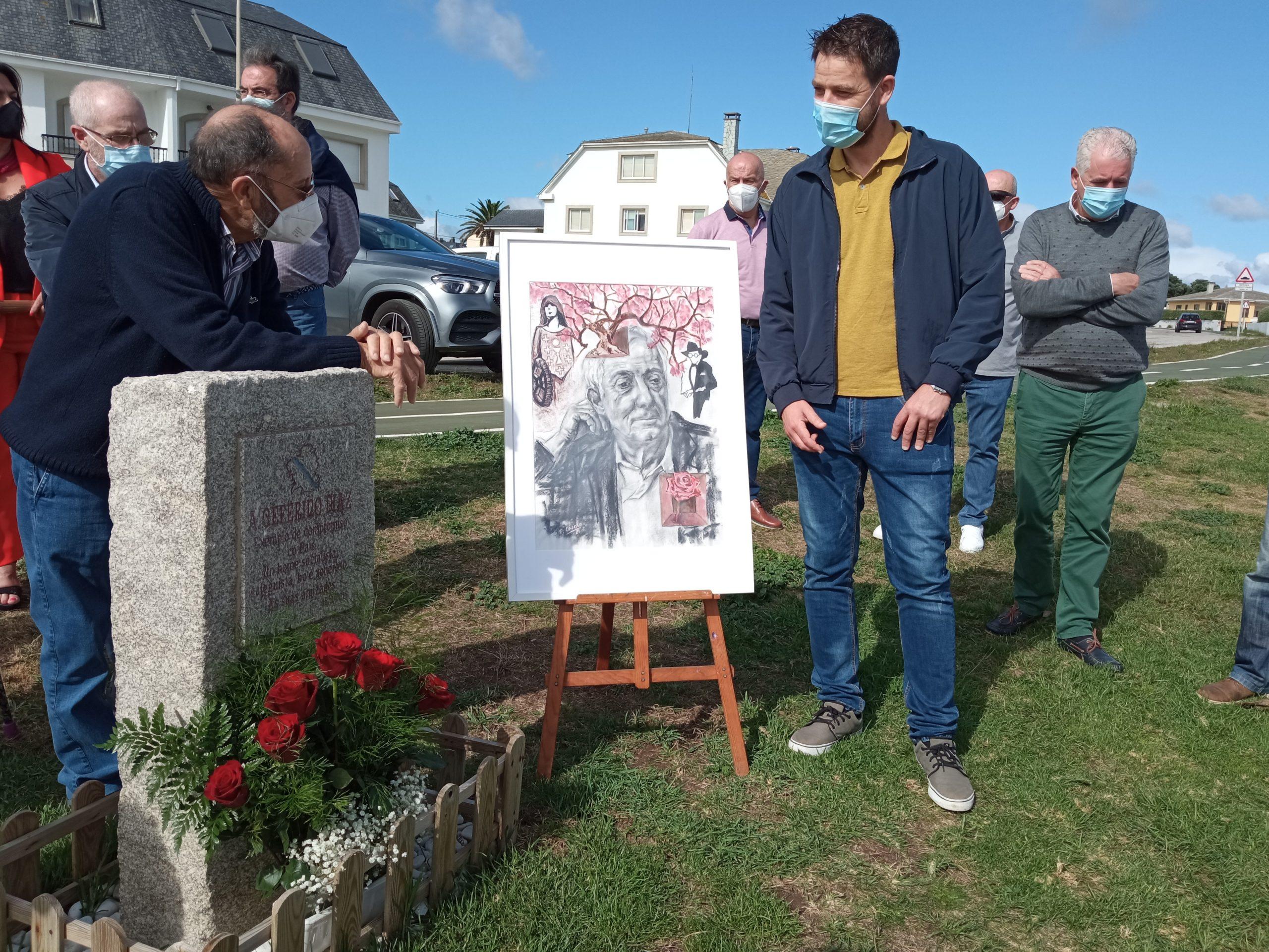 Acto homenaxe a Ceferino Díaz en Foz