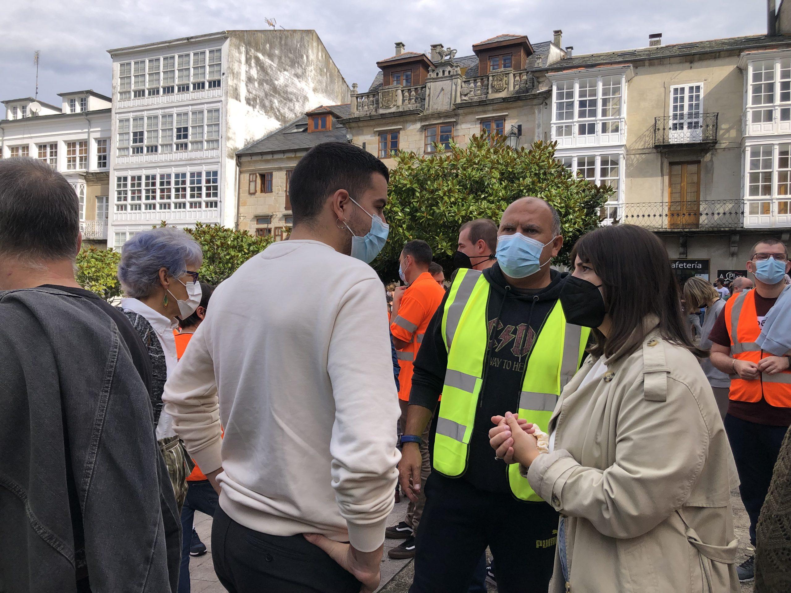 O BNG esíxelle á Xunta e ao goberno do estado que interveñan para evitar o peche de Vestas en Viveiro