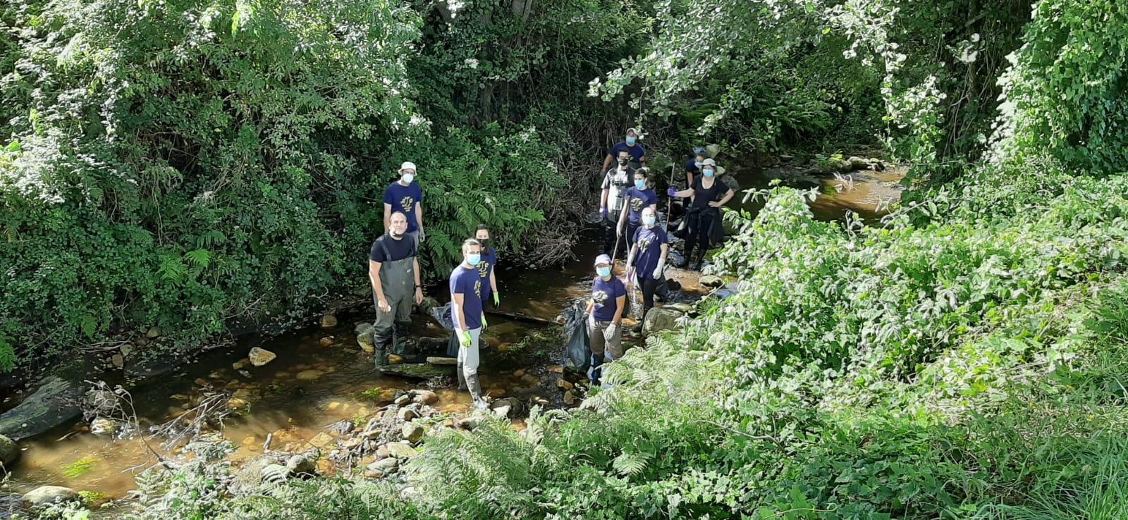 A Concellería de Medio Ambiente de Foz agradece a colaboración dos voluntarios na XIV Limpeza Simultánea de Ríos