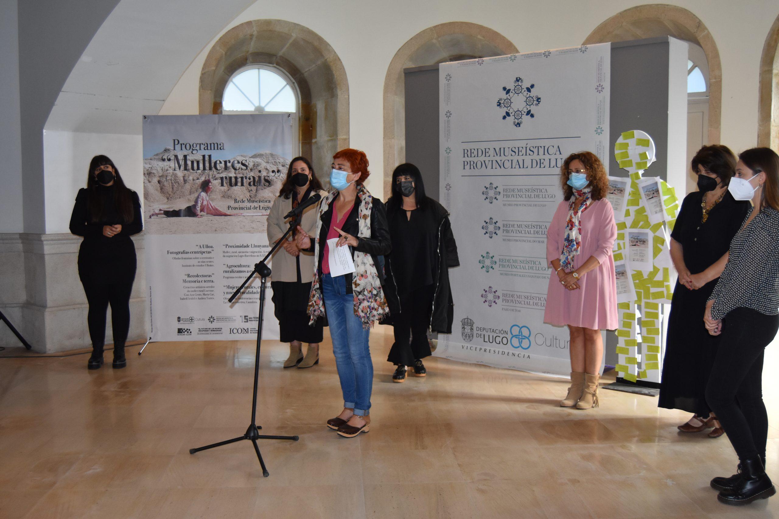 A Rede Museística presenta unha programación ligada ás mulleres rurais, con diferentes exposicións e obradoiros creativos  nos vindeiros tres meses
