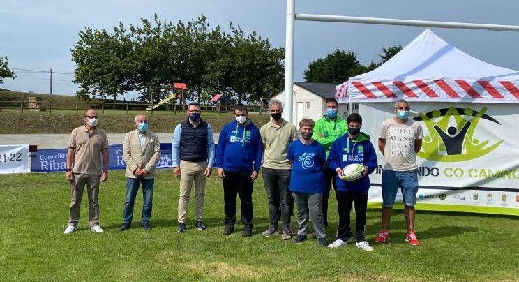 A Xunta impulsa o torneo de rugby inclusivo que se celebra esta fin de semana en Ribadeo, no marco do programa O teu Xacobeo