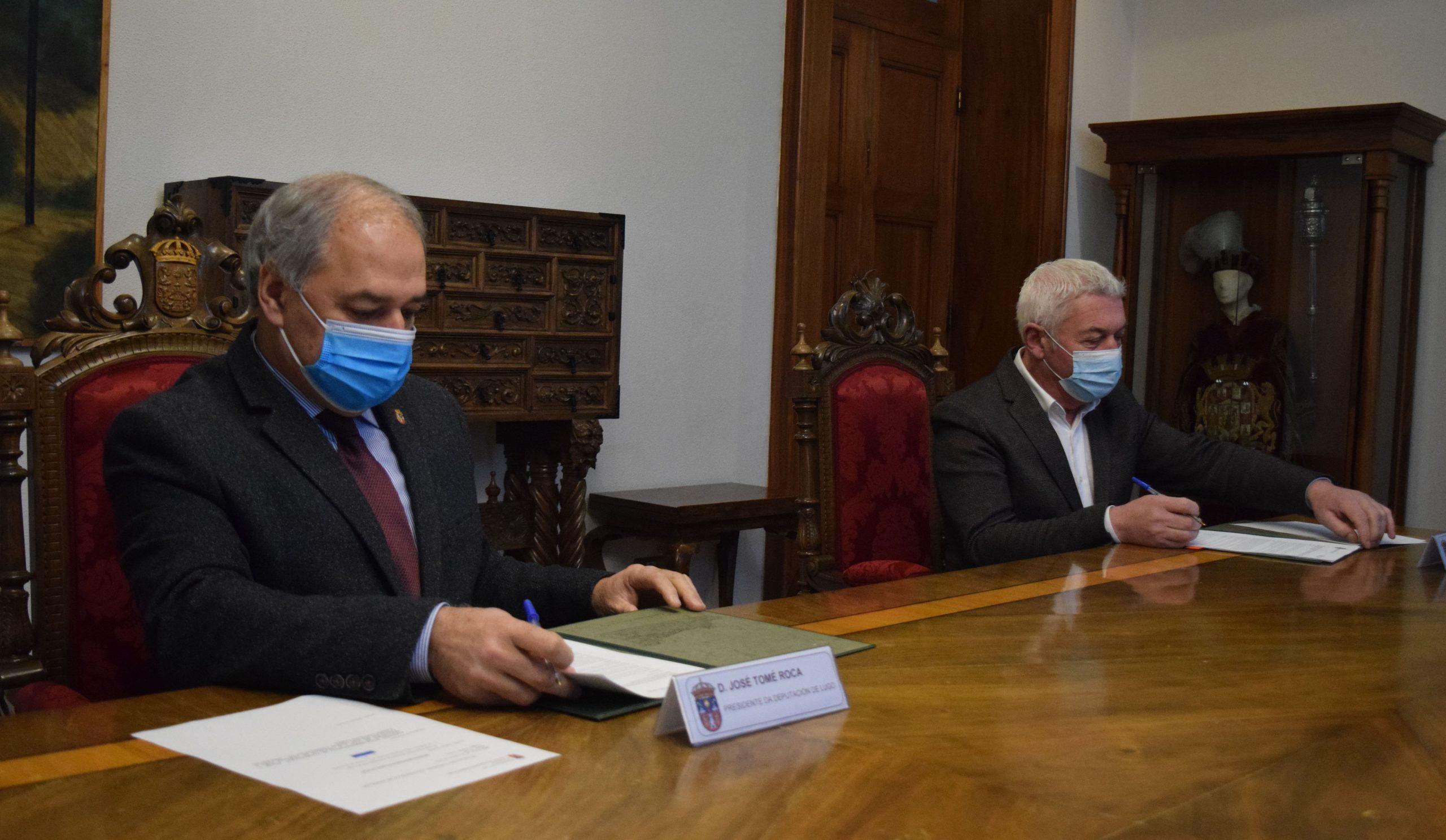 A Deputación financia con 46.000€ a instalación dunha depuradora ecolóxica na parroquia de Cabreiros, en Xermade