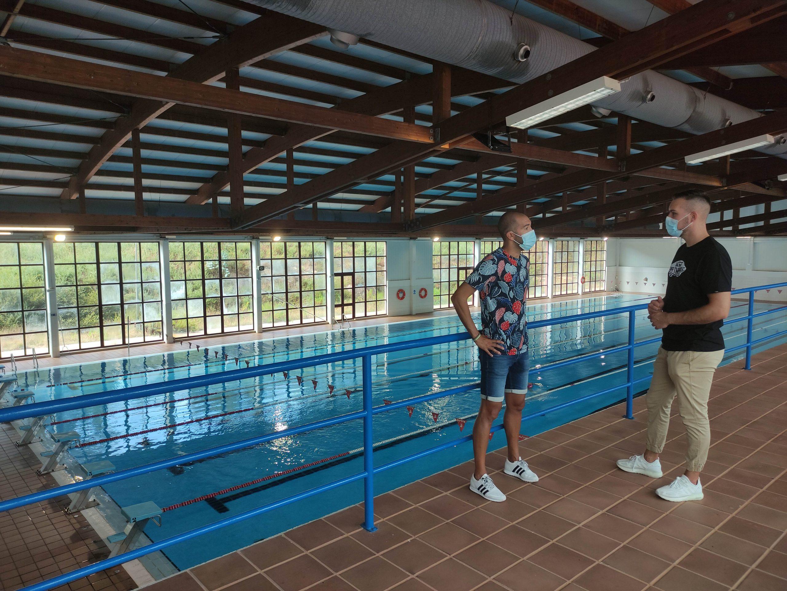 Reaberta a piscina olímpica municipal de Cervo
