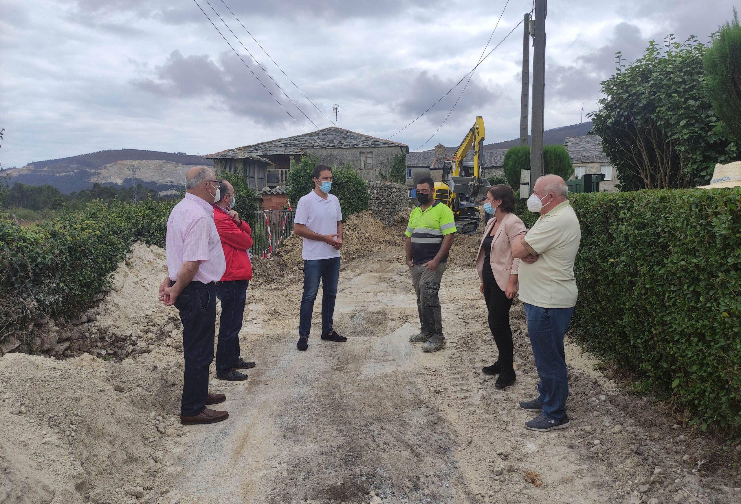 O Concello de Cervo dá un paso máis á hora de achegar o saneamento a toda a parroquia de San Román
