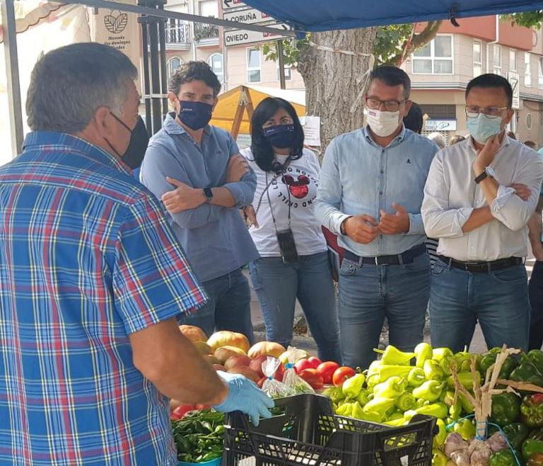 Visita do Conselleiro de Medio Rural a Ribadeo