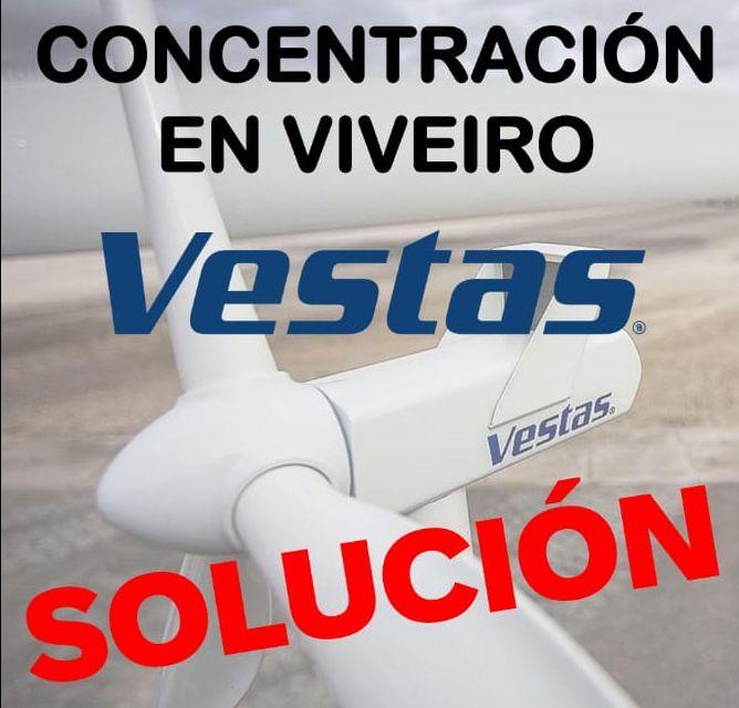 Os traballadorxs de Vestas convocan unha xuntanza aberta de protesta este sábado en Viveiro