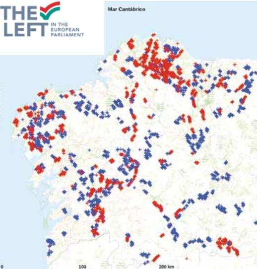 O Concello de Ribadeo asinou o convenio coa Deputación para a financiación da obra do carril-bici que unirá o centro da vila coa praia de Rocas