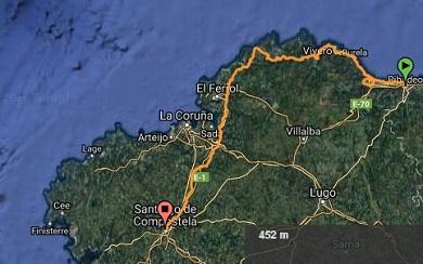 Cangas de Foz traballa para ser final de etapa no Camiño do Mar