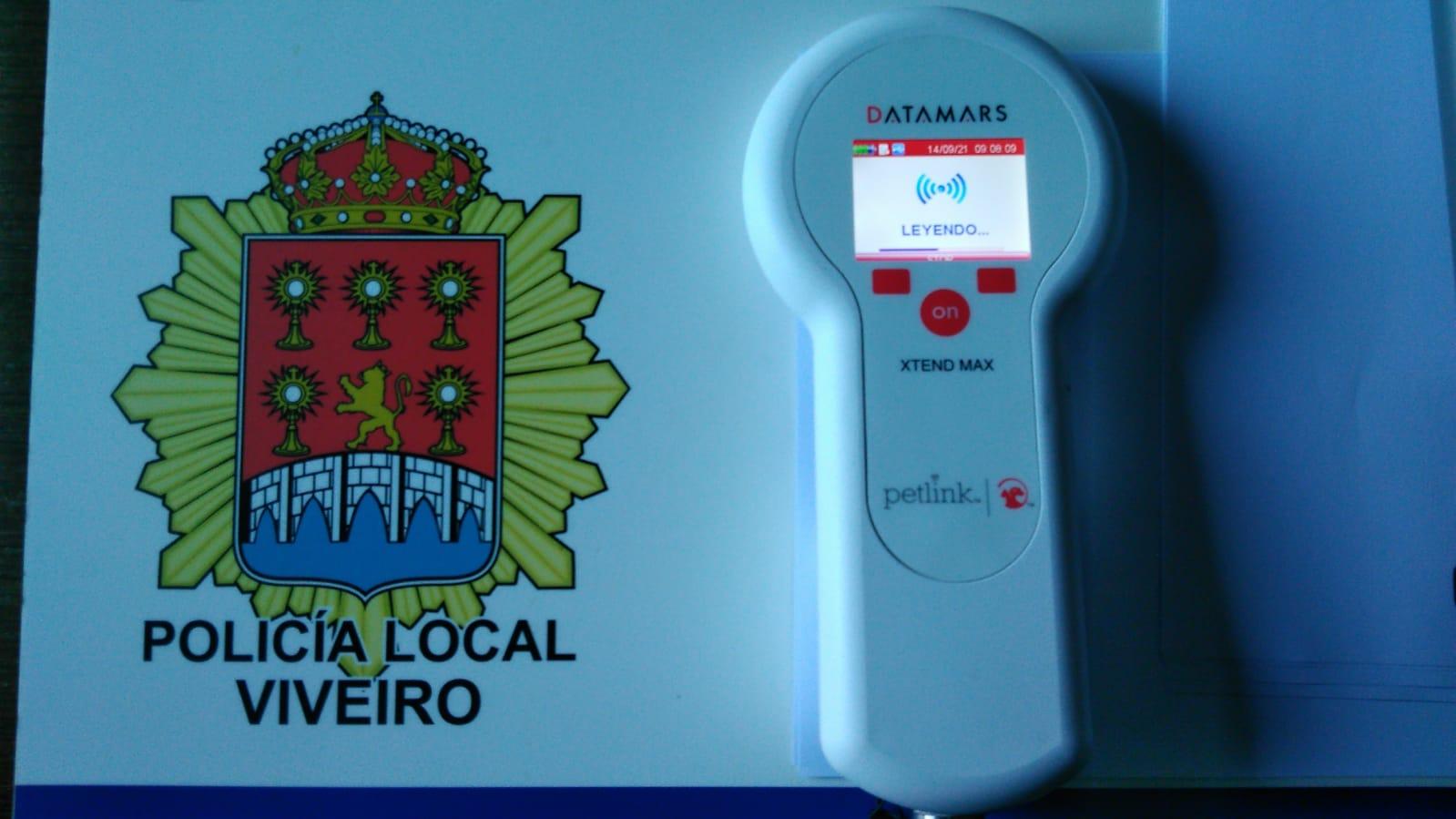 O Concello de Viveiro adquire un sofisticado lector de microchips para a Policía Local