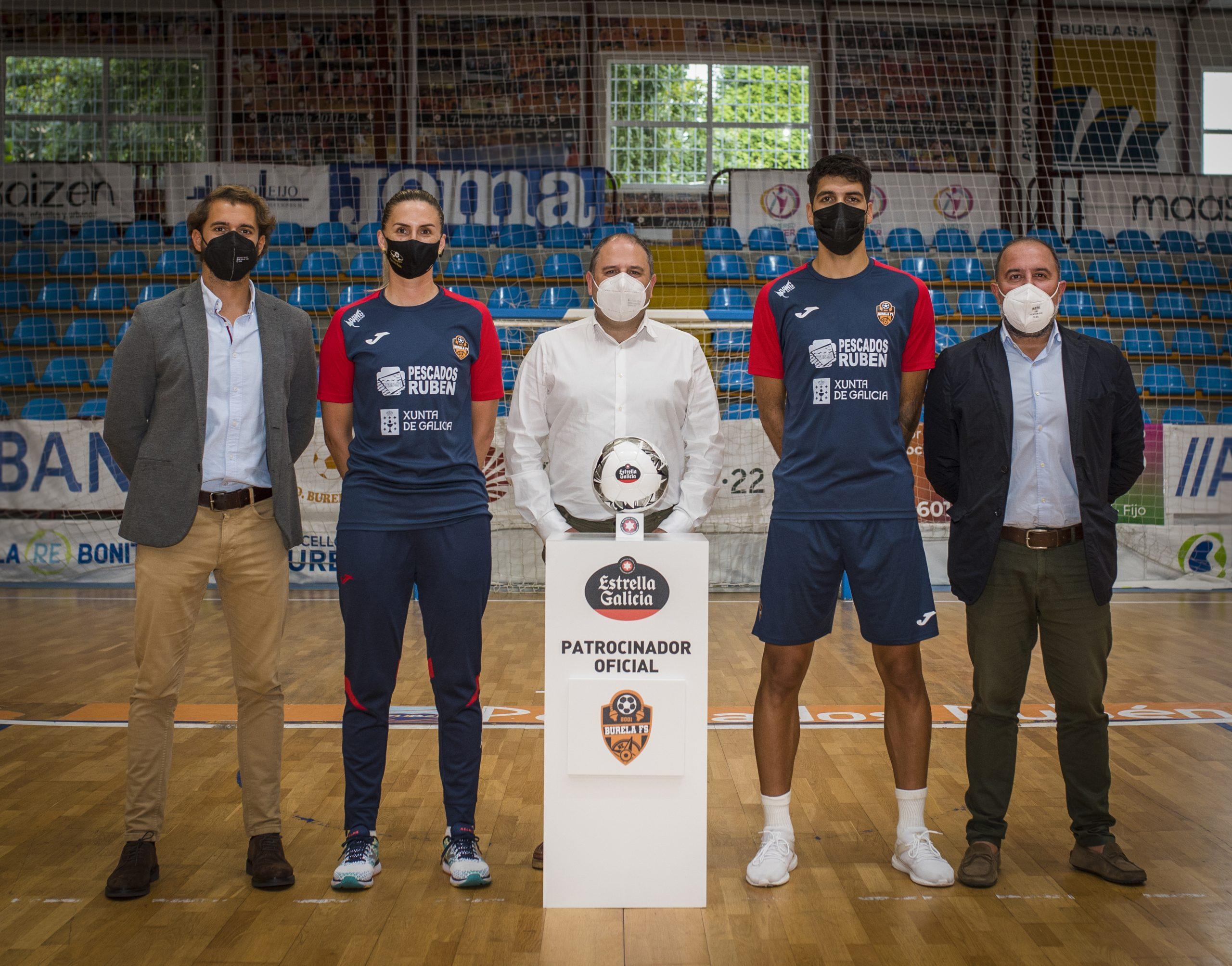 Estrella Galicia novo patrocinador do Burela FS