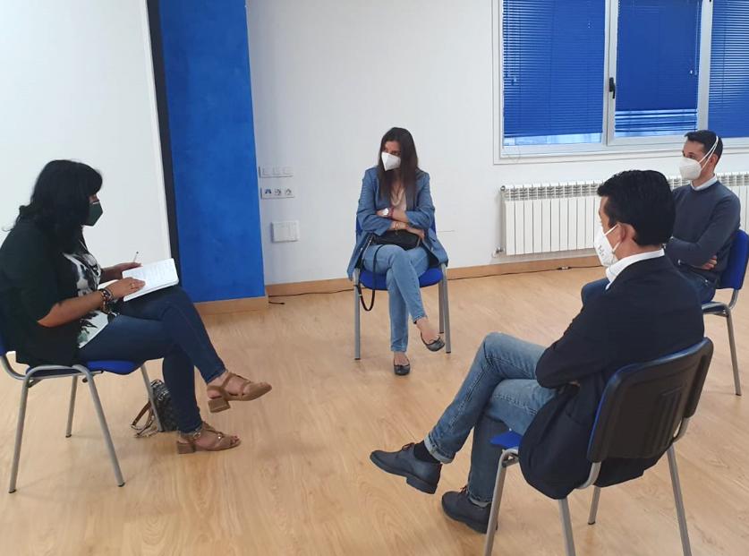 """Elena Candia pon en valor que o Partido Popular da provincia de Lugo """"está a integrar xente moza no seu proxecto"""""""