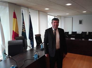 O Alcalde de Burela felicita a José Mª Neves, o novo presidente da República de Cabo Verde, a quen convida a visitar o municipio