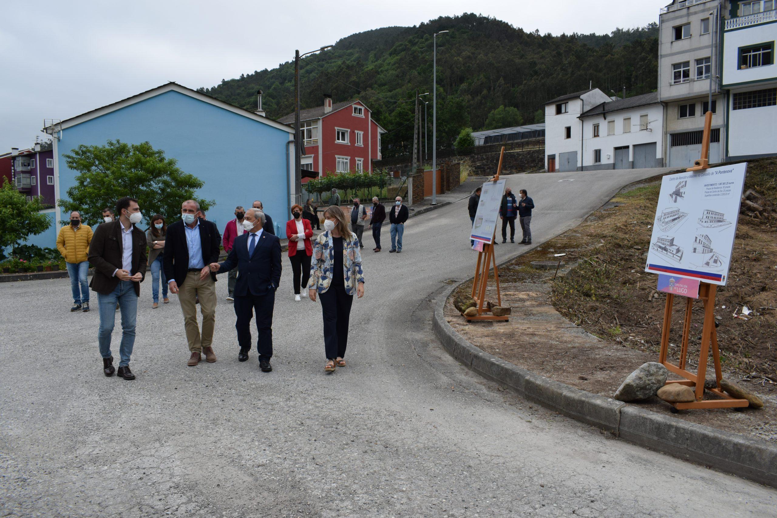 A Deputación adxudica as obras do Centro de Maiores da Pontenova por preto de 2M€