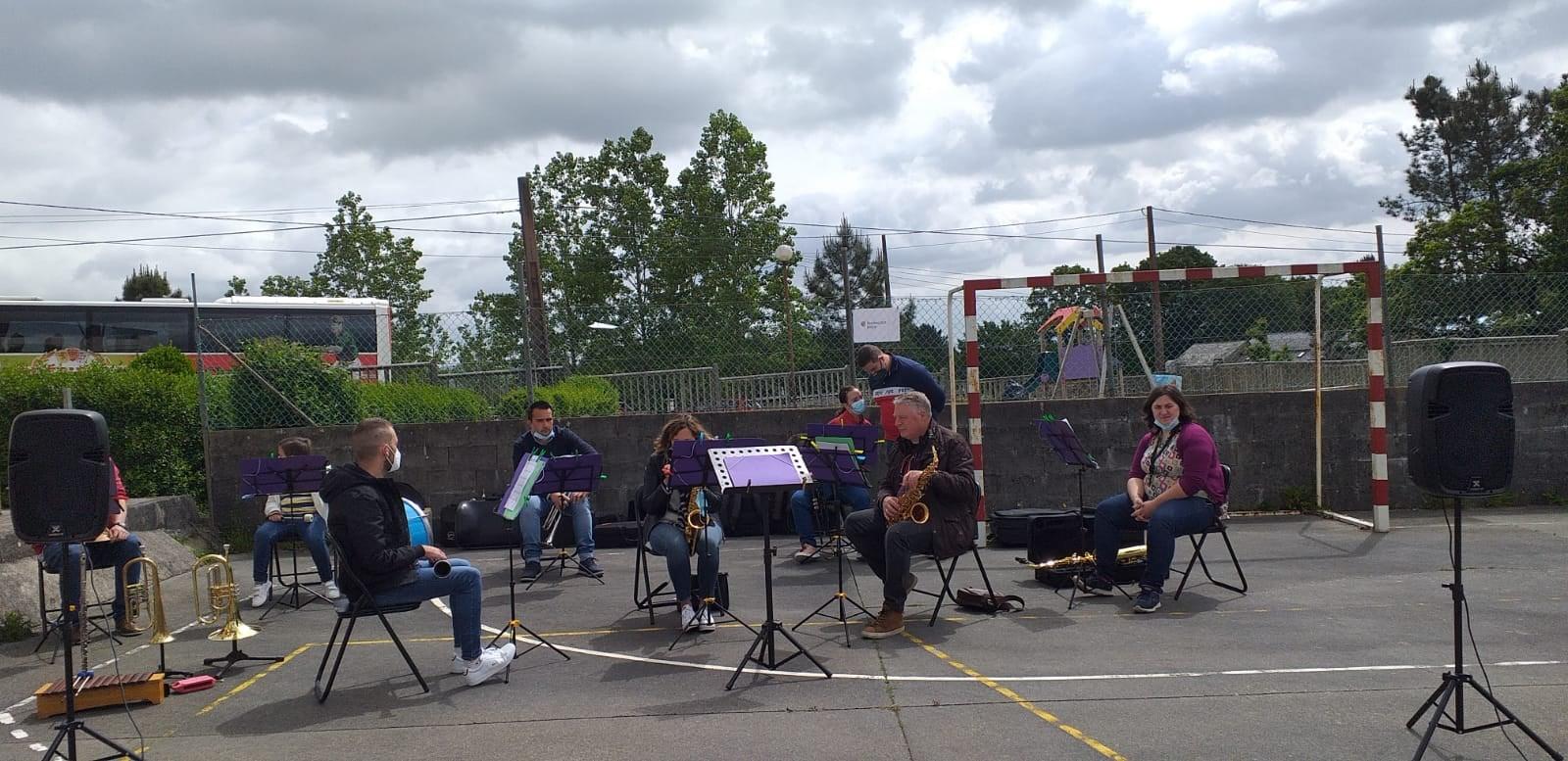 A banda de Lourenzá actúa no Vicedo este domingo