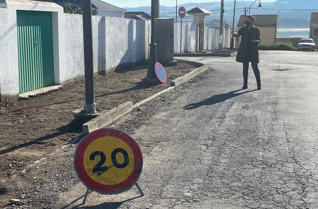 Iniciadas as obras de acondicionamento no barrio de San Miguel de Ribadeo