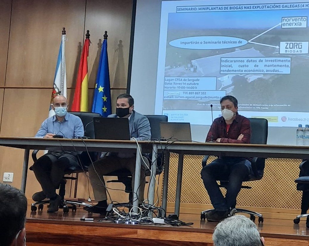 A Xunta defende a aposta polas enerxías renovables para mellorar a competitividade das explotacións agrogandeiras galegas