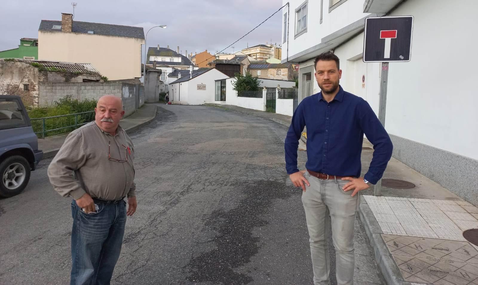 O Concello de Foz adxudica a reforma das rúas Limoeiros, na que haberá cambios no tráfico, e Calvario