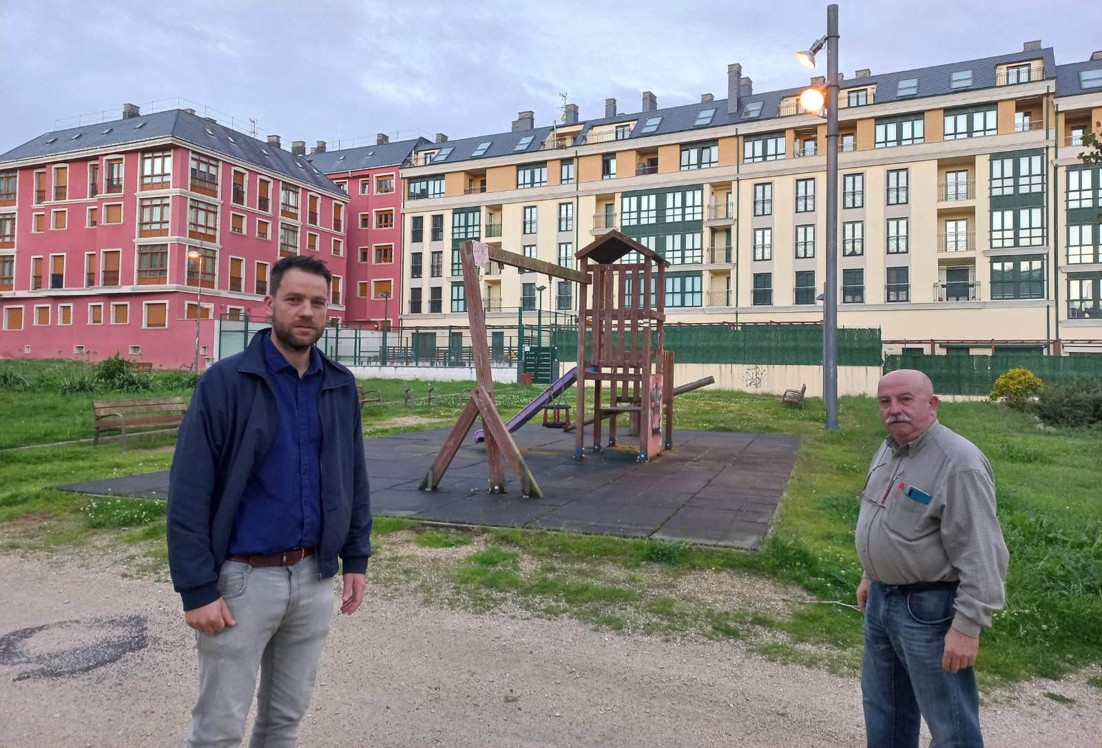 Foz contará coas primeiras pistas de petanca da Mariña no parque da rúa Uxío Novoneyra, que será totalmente renovado