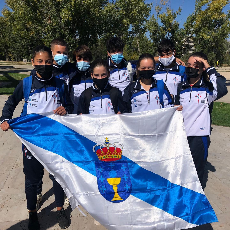 Excelente participacion de Brais Diaz Salas no Campionato de España por autonomías