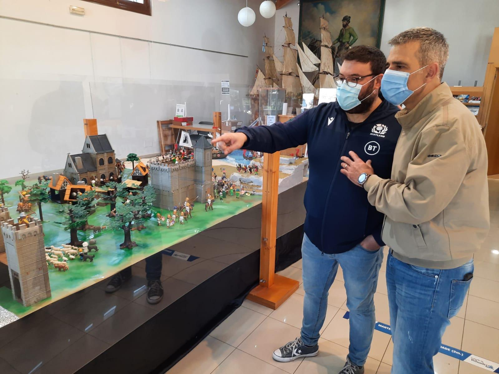 """Ata o 8 de xaneiro na Oficina de Turismo a exposición """"Os viquingos de Playmobil desembarcan en Ribadeo"""""""