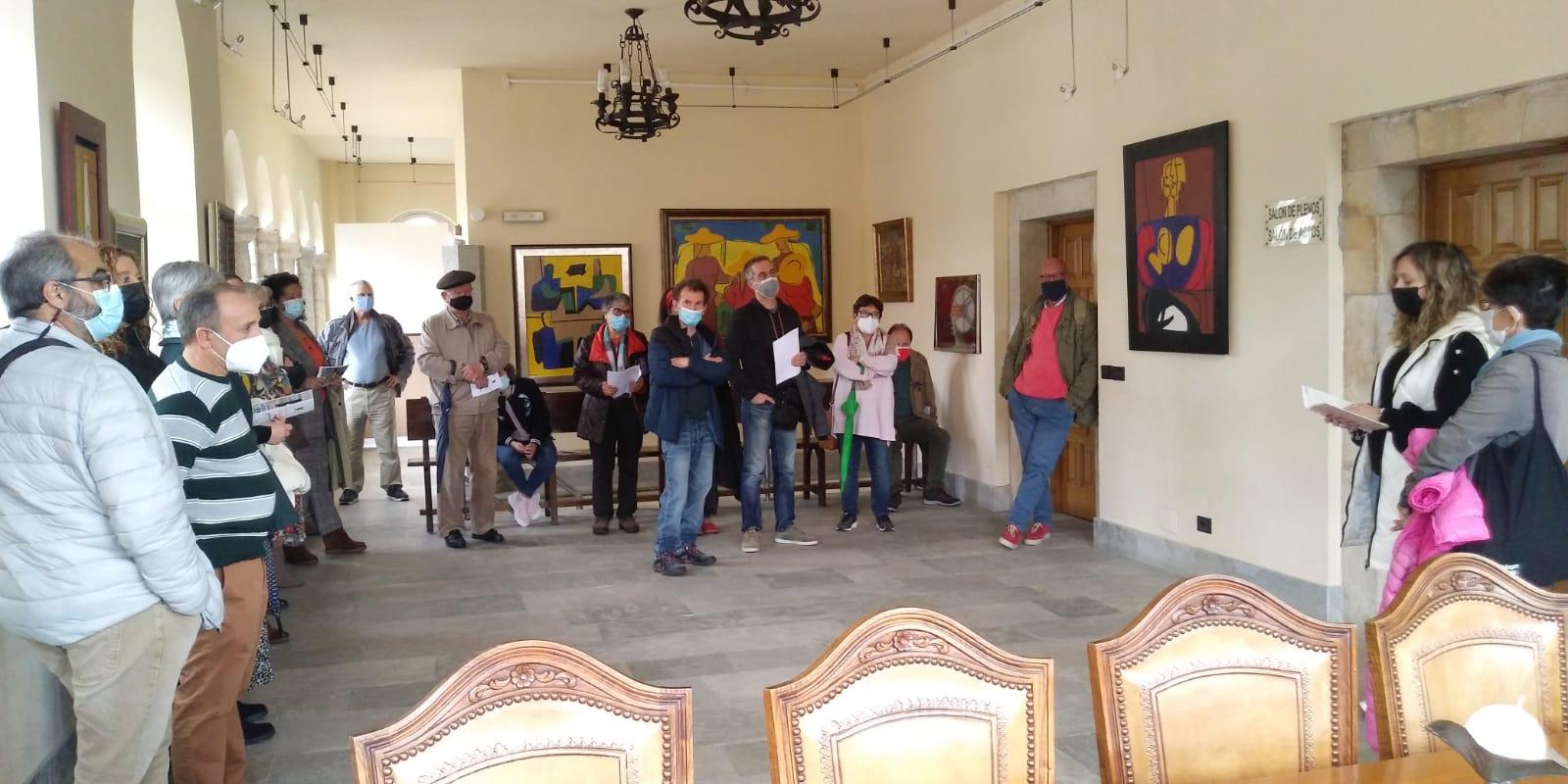 Lourenzá acolle unha mostra de pinturas e gravados de Luís Seoane ata o 19 de novembro