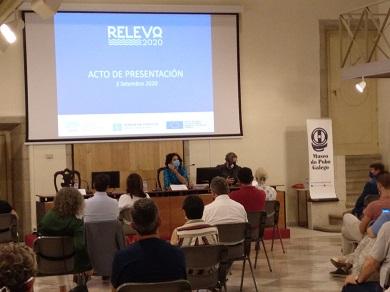 O alumnado, participante activo do acto de clausura do RELEVO2020