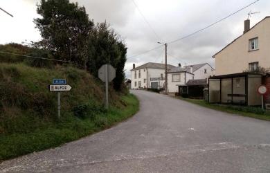 A estrada provincial que une Foz e Alfoz por San Acisclo quedará cortada por obras este mércores