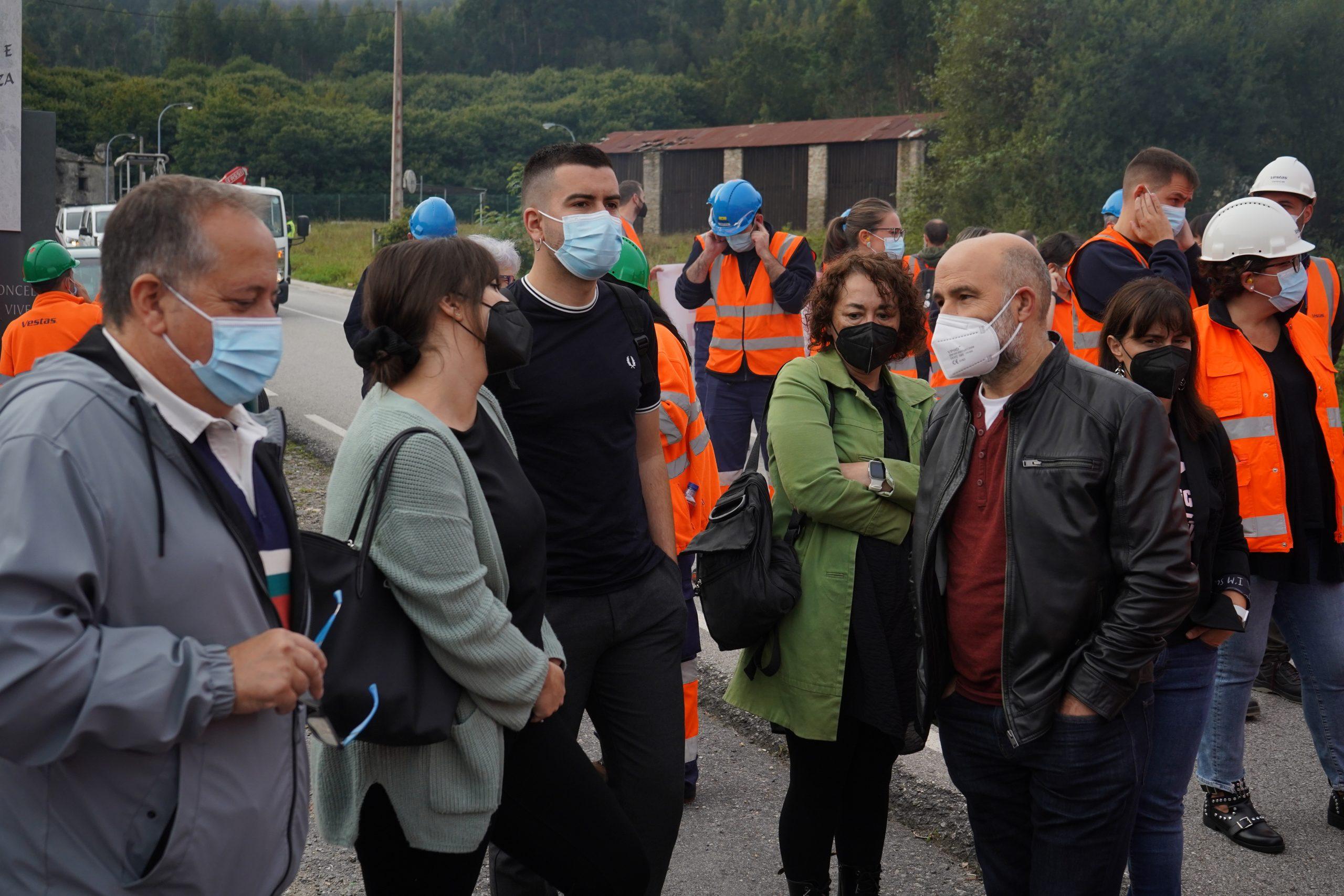 O BNG lanza unha ofensiva institucional para salvar os postos de traballo na fábrica de Vestas en Viveiro