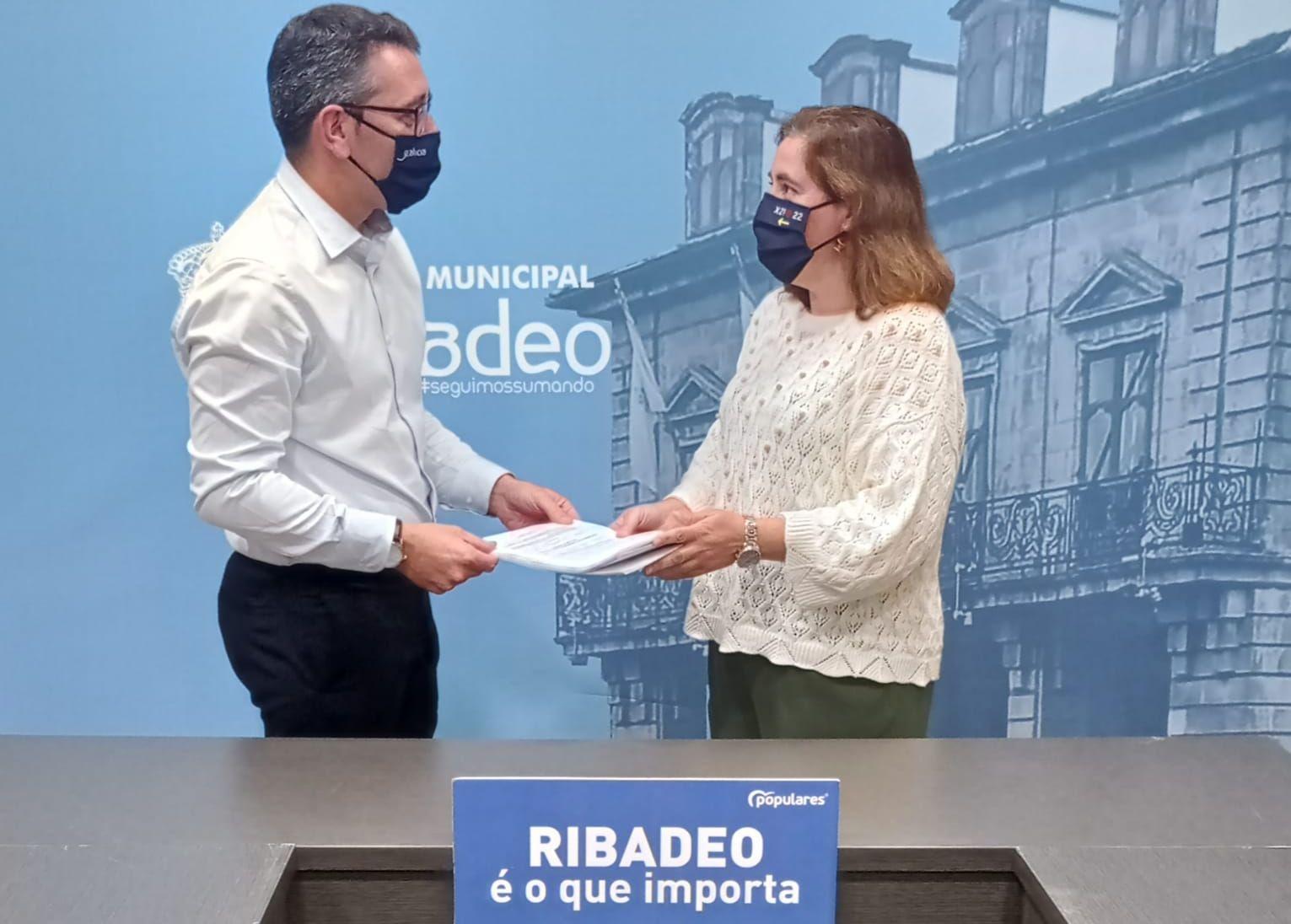 Daniel Vega, proclamado único candidato á presidencia do PP de Ribadeo