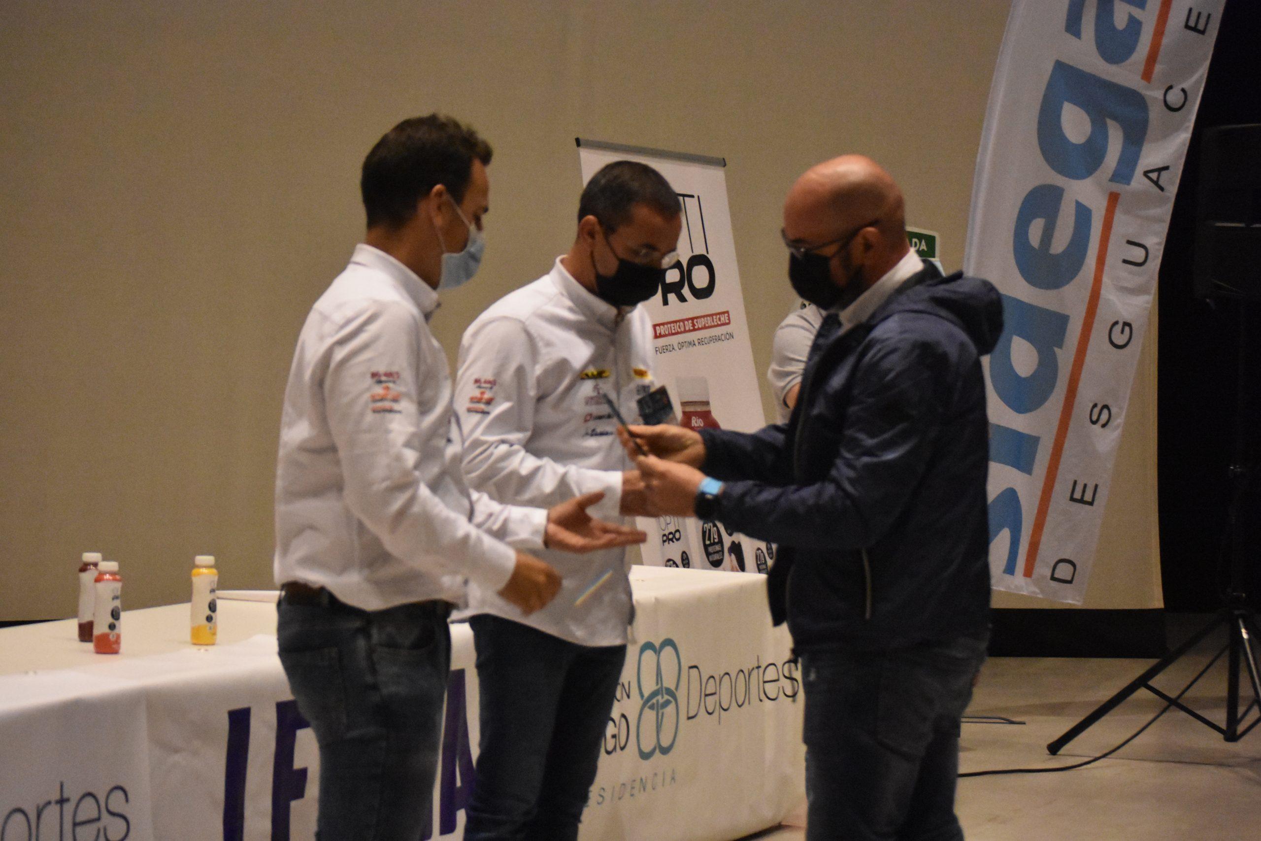 Entrega de premios do Rally San Froilán