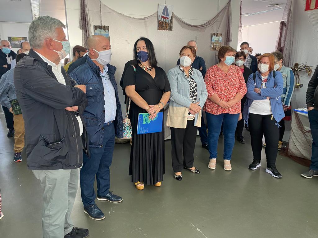 """Ata o 26 de novembro na sala de exposicións da Casa da Cultura de San Cibrao, a exposición """"Aula do mar"""" da Asociación de Axuda ó Enfermo Mental A Mariña"""