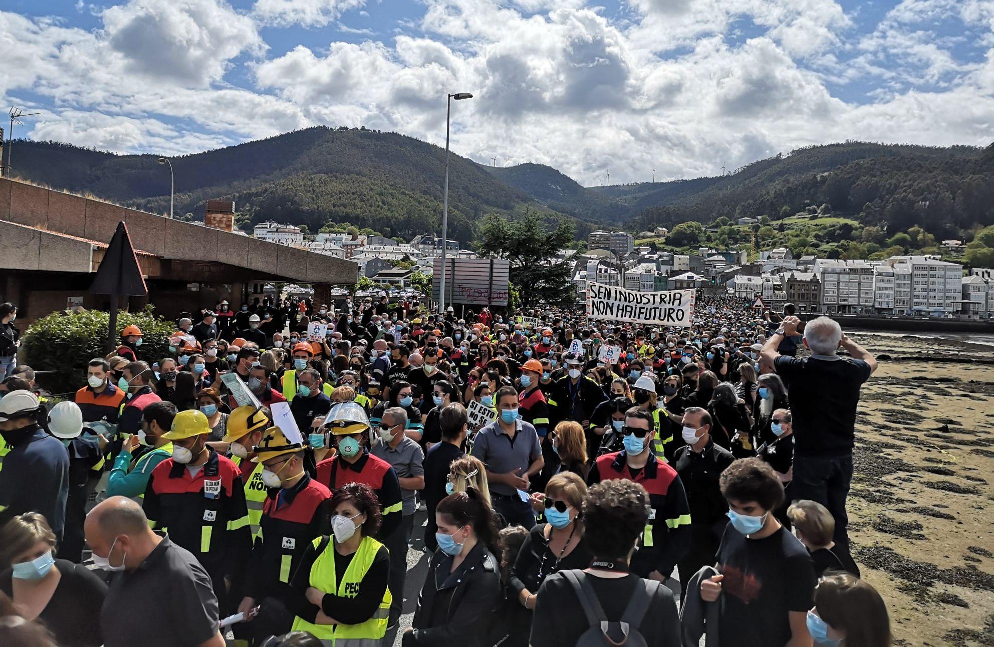O  Concello de Cervo apoia a manifestación convocada polo futuro industrial da Mariña este domingo en Viveiro