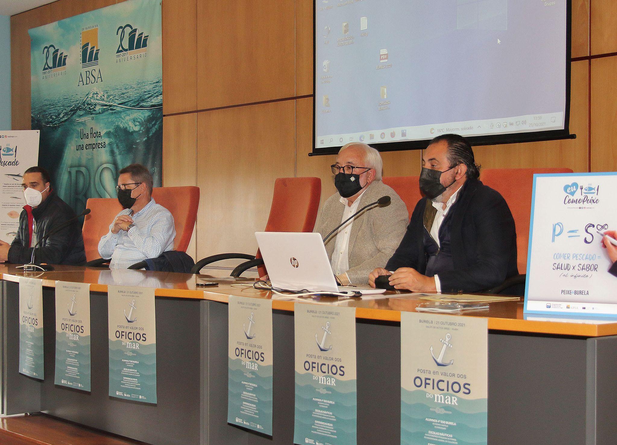 OPP Lugo presentou a alumnos de Burela as oportunidades de traballar no sector pesqueiro