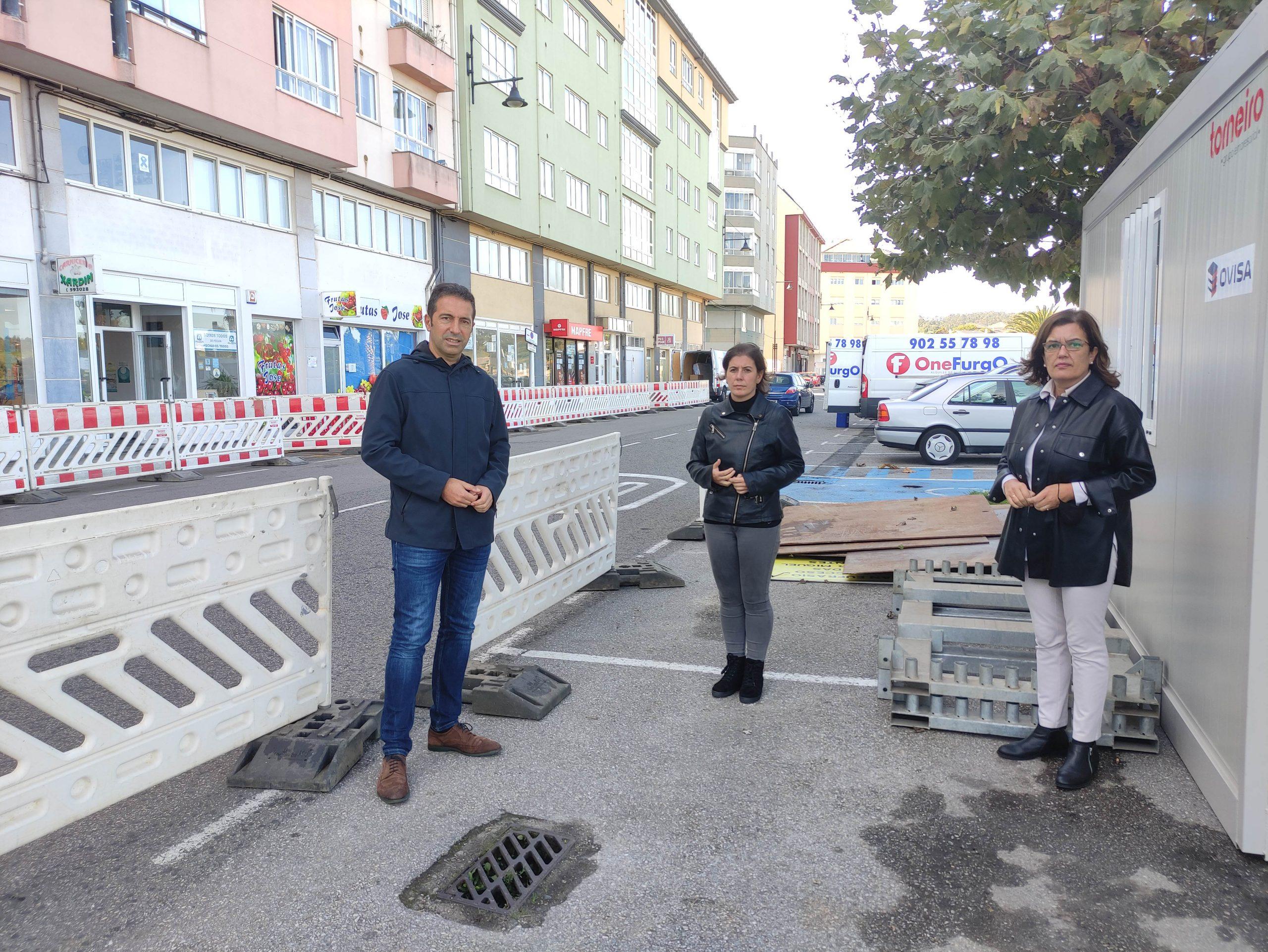 O Concello de Cervo substitúe a rede de saneamento na Avenida da Mariña desde o cruce da Rúa da Cruz ata o cruce coa Rúa Bellavista e A Veiga