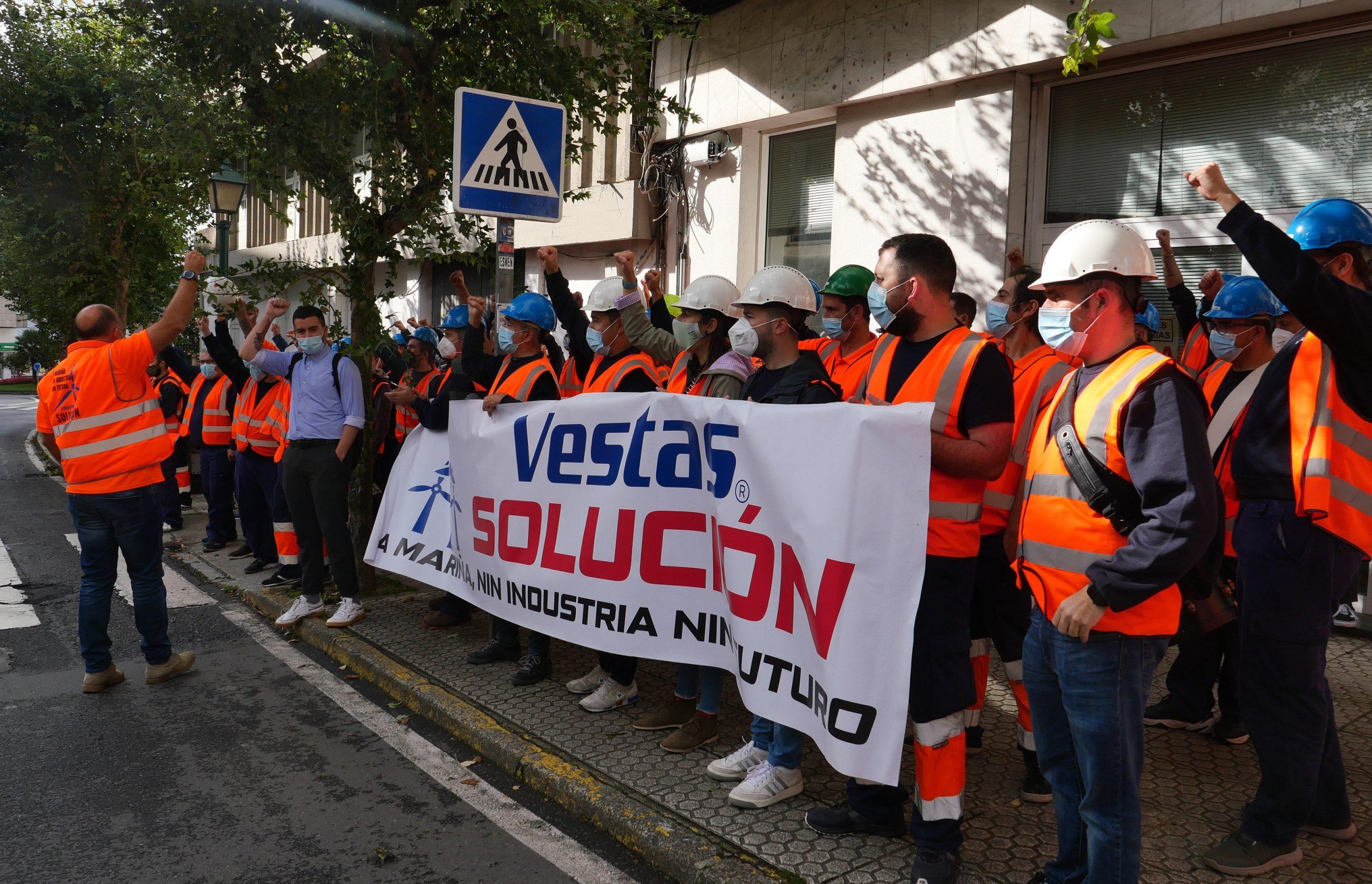 O BNG logra o acordo do Parlamento para que a Xunta actúe en Vestas